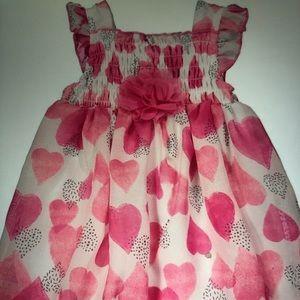 Gush is heart sleeve bubble dress